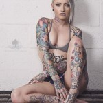 Miami ALt Model Vany Vicious On DIabolical Rabbit