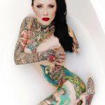 Tattooed Model: Makani Terror