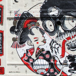The Yok x Sheryo NYC/Chicago Street Art On Walls