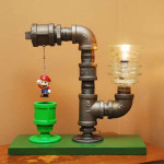 Super Mario Bros Pipe Lamp
