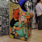 Eye Catching Art Exhibition We Liked: Faile's Deluxx Fluxx Arcade Installation