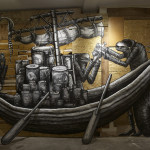 The Bestiary Solo Show Exhibition By Artist Phlegm