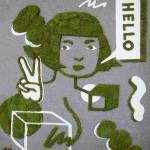 """Graffiti Moss """"Hello GoodBye"""" By Jennifer Ilett"""
