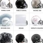 Weird Cool Stuff: Designer NFL Football Helmets