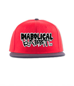 Red And Navy Diabolical Rabbit® Snapback