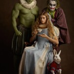 Famous Character Portraits By Sacha Goldberger