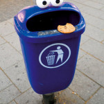 Image Of The Day  1/24/15 Cookie Monster Trash Can