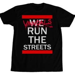 Vandals Run The Streets Tee Black