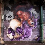 Street Art By Artist SMUG