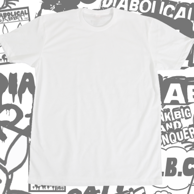 Blank White Tee For Shop