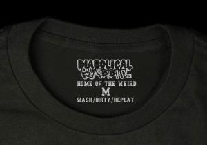 tagless label shirt Diabolical Rabbit