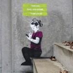 Funny And Creative Social Media Street Art