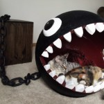 Cool But Weird: Chain Chomp Cat Bed