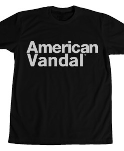 american vandal black tee Diabolical Rabbit