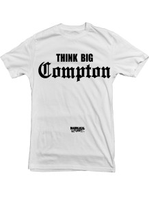 Think Big Compton white tee