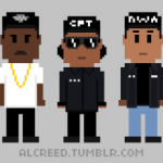 The King Of Pixel Art Al Creed