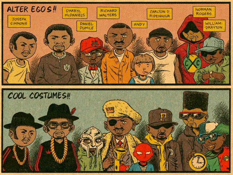 Hip Hop Secret Idenities