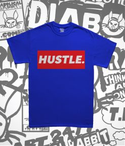 Hustle Period Royal Tee