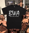 BWA Black Tee White Font Diabolical Rabbit®