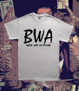 BWA White Tee Black Font Diabolical Rabbit®