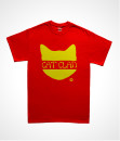 Cat clan red tee diabolical rabbit