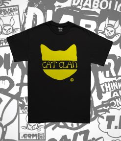 cat clan black tee diabolical rabbit